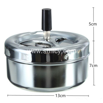 Stainless Steel Odorless Cigarette Ashtray